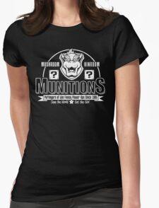 Mushroom Kingdom Munitions Womens Fitted T-Shirt
