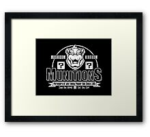 Mushroom Kingdom Munitions Framed Print