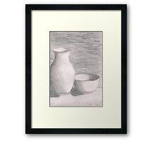Vases Framed Print
