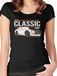 DATSUN NISSAN 240Z Women's Fitted Scoop T-Shirt