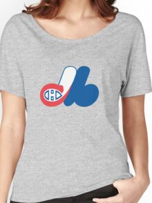 Habs - Expos Logo Mashup Women's Relaxed Fit T-Shirt