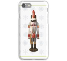 Nutcracker - White iPhone Case/Skin