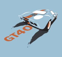 Ford GT40 by velocitygallery