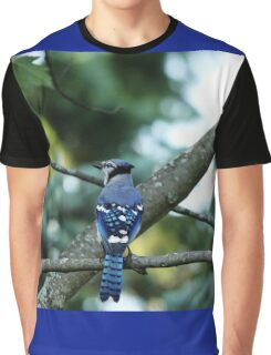 Singing The Blues - Blue Jay Graphic T-Shirt