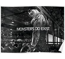 Monsters Do Exist Poster