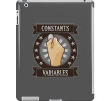 Constants & Variables iPad Case/Skin