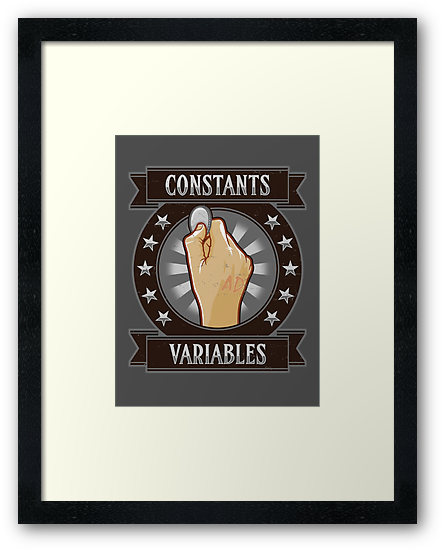 Constants & Variables by Adho1982