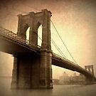 Brooklyn Bridge Nostalgia by Jessica Jenney