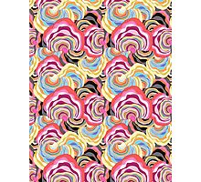 abstract color pattern Photographic Print