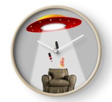 Alien invasion Clock
