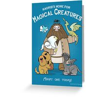 Hagrid's Home for Magical Creatures Greeting Card