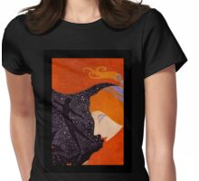 "Art Deco Design by Erte ""Christmas Cover"" Womens Fitted T-Shirt"