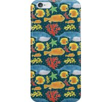 Sea Animals Print iPhone Case/Skin