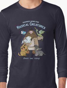 Hagrid's Home for Magical Creatures Long Sleeve T-Shirt