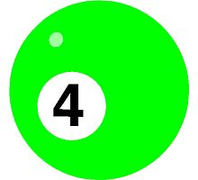 Green Four Ball by kwg2200