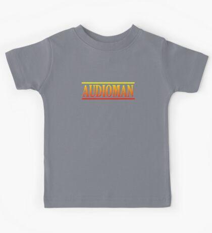 Colorful Audioman Kids Tee
