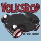 Volksrod VW Beetle by velocitygallery