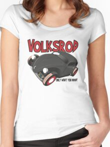 Volksrod VW Beetle Women's Fitted Scoop T-Shirt