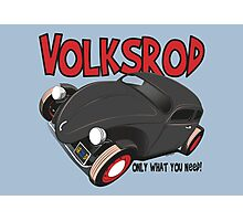 Volksrod VW Beetle Photographic Print