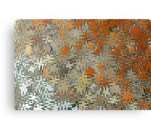 Gaudi Mosaic Abstraction Canvas Print