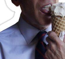 Joe Biden Eating Ice Cream and Holding $20 Sticker