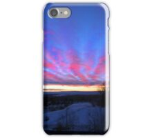 I Miss The Sunsets Of Alberta iPhone Case/Skin