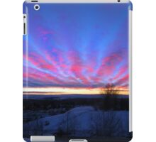 I Miss The Sunsets Of Alberta iPad Case/Skin