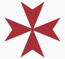Maltese cross - Knights Templar - Holy Grail -  The Crusades by James Ferguson - Darkinc1