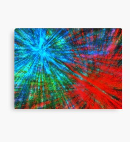 Abstract Big Bangs 001 Canvas Print