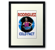 Sixto Rodriguez Framed Print