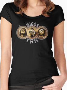 Migos YRN Women's Fitted Scoop T-Shirt
