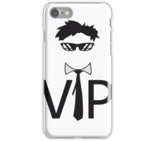 star famous berühmt wichtig reich vip person dj cool sonnenbrille krawatte hemd text shirt logo  iPhone Case/Skin