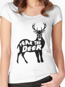 Fear the Deer Women's Fitted Scoop T-Shirt