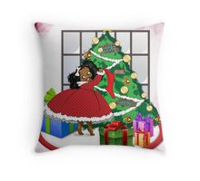 Coco Holiday Throw Pillow