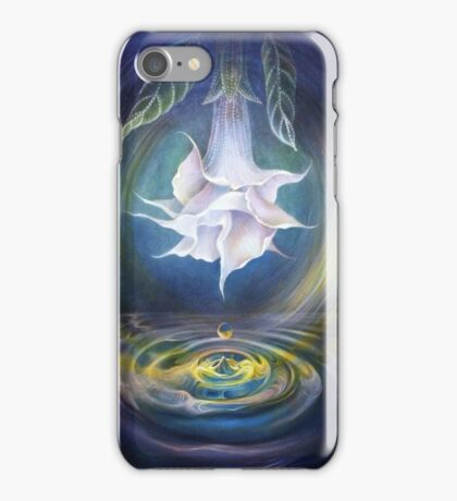 Angel's Trumpet iPhone Case/Skin