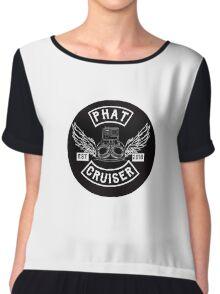 Phat Cruiser - Your Friendly Illawarra Motovlogger Chiffon Top