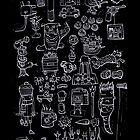 Scribblings light by Glen McBeth