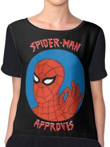 Spidey Approves Chiffon Top