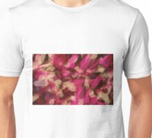 pink purple and black painting texture abstract background Unisex T-Shirt