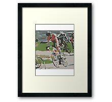 20K BICYCLE ALA MODE......! Framed Print