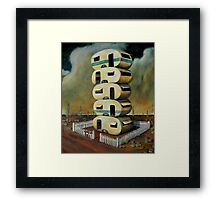 Outback Highrise Framed Print