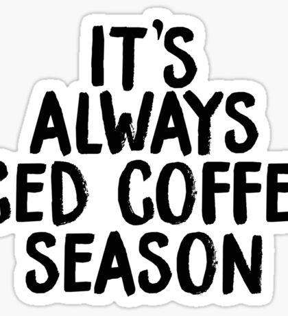 ICED COFFEE SEASON Sticker