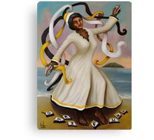 Garifuna Loops Canvas Print