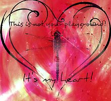 It's my heart! by jen7angel