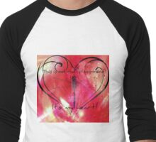 It's my heart! Men's Baseball ¾ T-Shirt