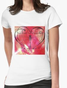 It's my heart! Womens Fitted T-Shirt