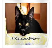 I'm so bored Poster