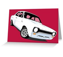 Ford Escort Mk1 Greeting Card