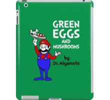 Green Eggs and Mushrooms iPad Case/Skin