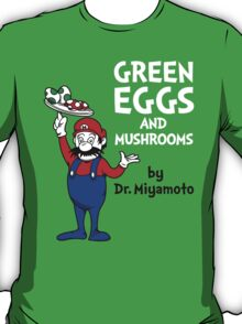 Green Eggs and Mushrooms T-Shirt